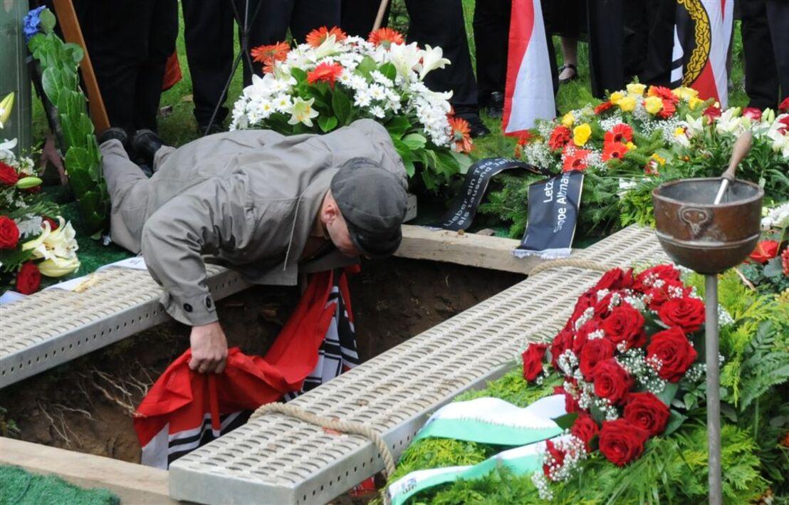 Uwe Mundlos Beerdigung