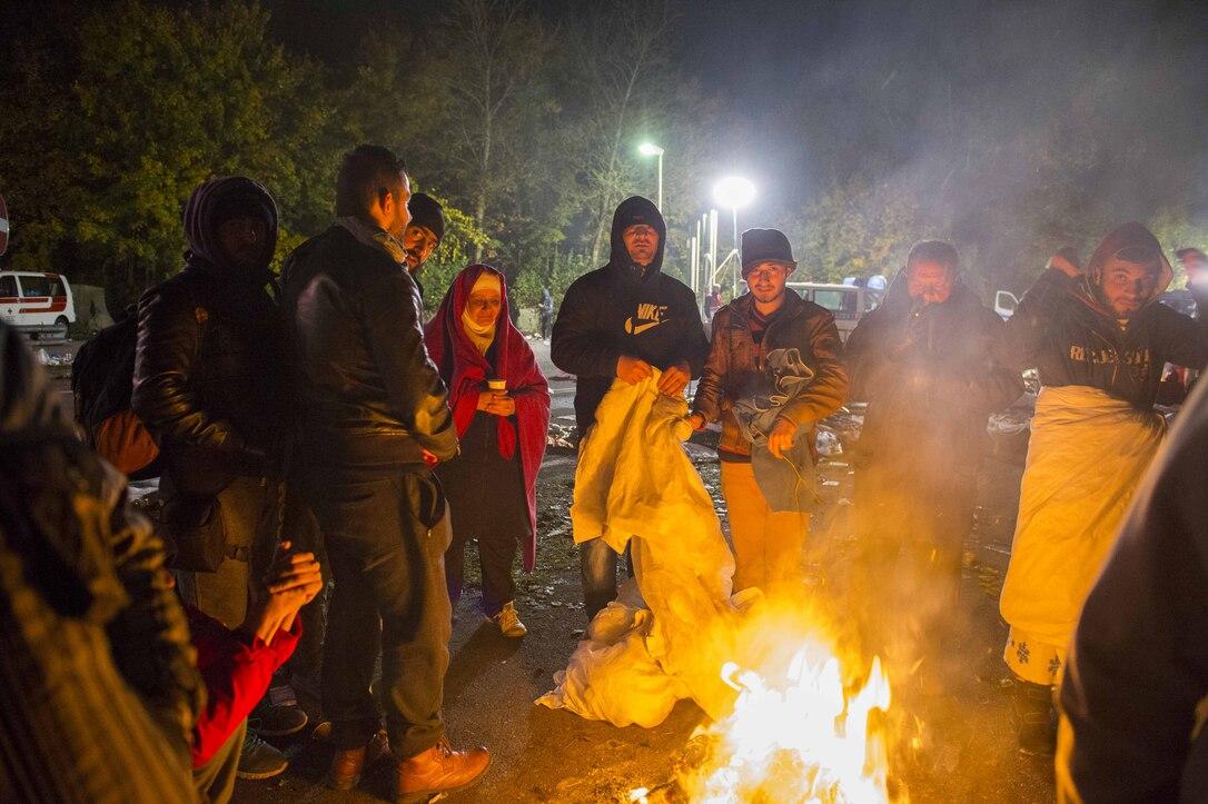 Im Zelt Vor Blitz Geschützt : Das flüchtlingsdrama von passau achleiten bayern